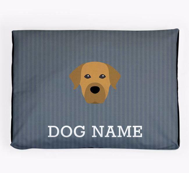 Personalised Dog Bed for your Staffador