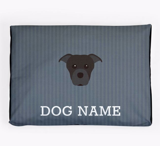 Personalised Dog Bed for your Staffordshire Bull Terrier