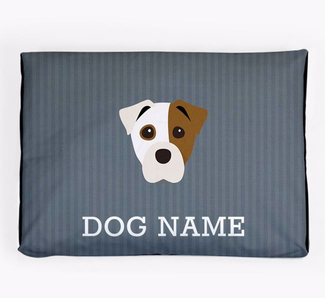 Personalised Dog Bed for your Staffy Jack