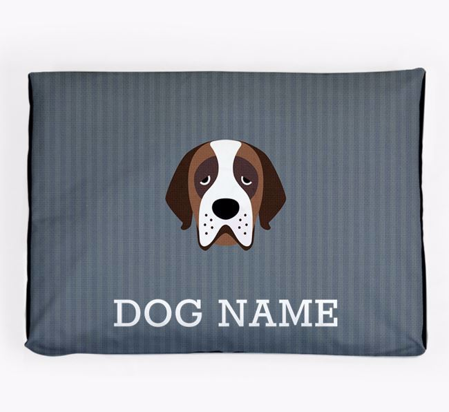Personalised Dog Bed for your St. Bernard