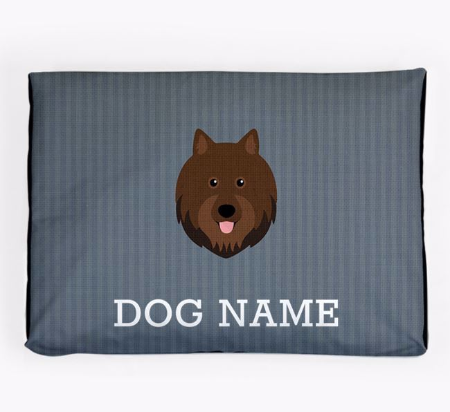 Personalised Dog Bed for your Swedish Lapphund