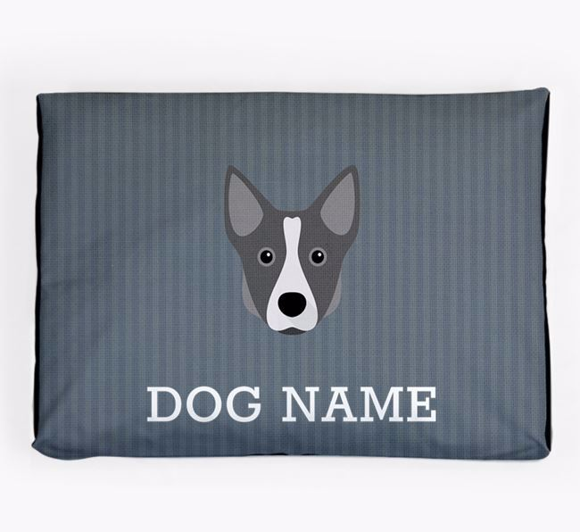 Personalised Dog Bed for your Swedish Vallhund