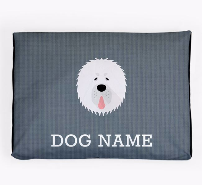 Personalised Dog Bed for your Tibetan Mastiff