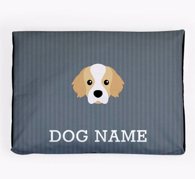Personalised Dog Bed for your Tibetan Spaniel