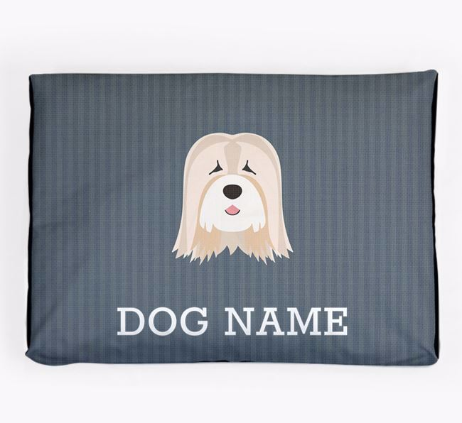 Personalised Dog Bed for your Tibetan Terrier