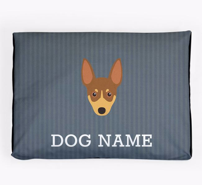 Personalised Dog Bed for your Toy Fox Terrier