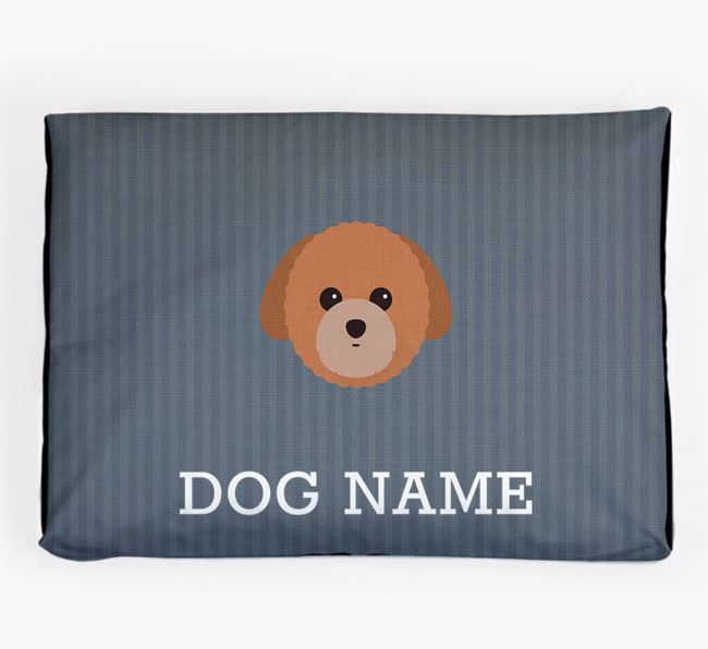 Personalised Dog Bed for your Toy Poodle