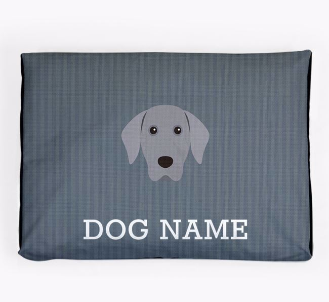 Personalised Dog Bed for your Weimaraner