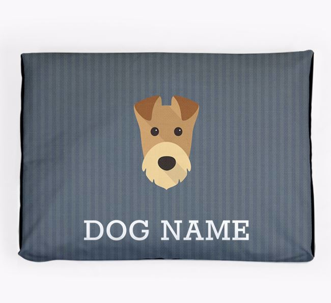 Personalised Dog Bed for your Welsh Terrier