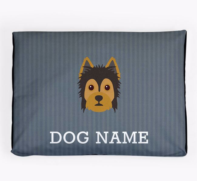 Personalised Dog Bed for your Yorkie Russell