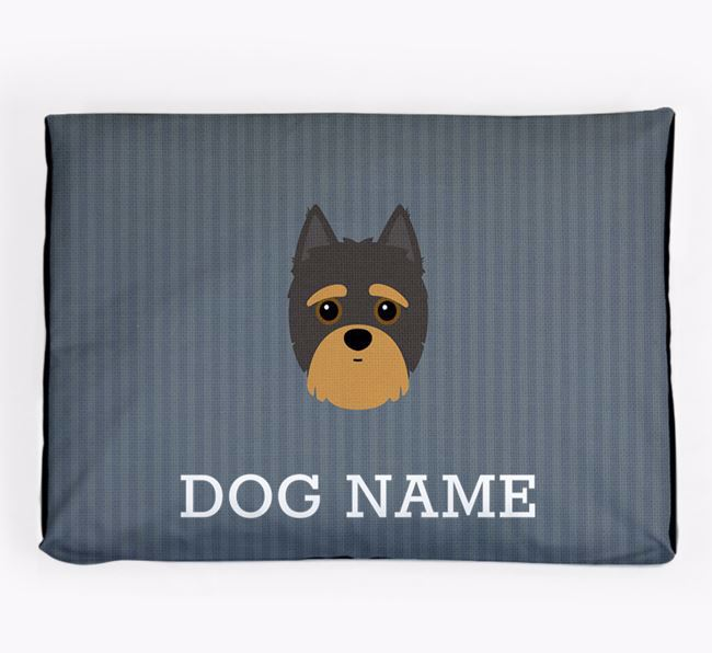 Personalised Dog Bed for your Yorkipoo