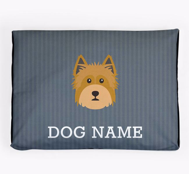 Personalised Dog Bed for your Yorkshire Terrier