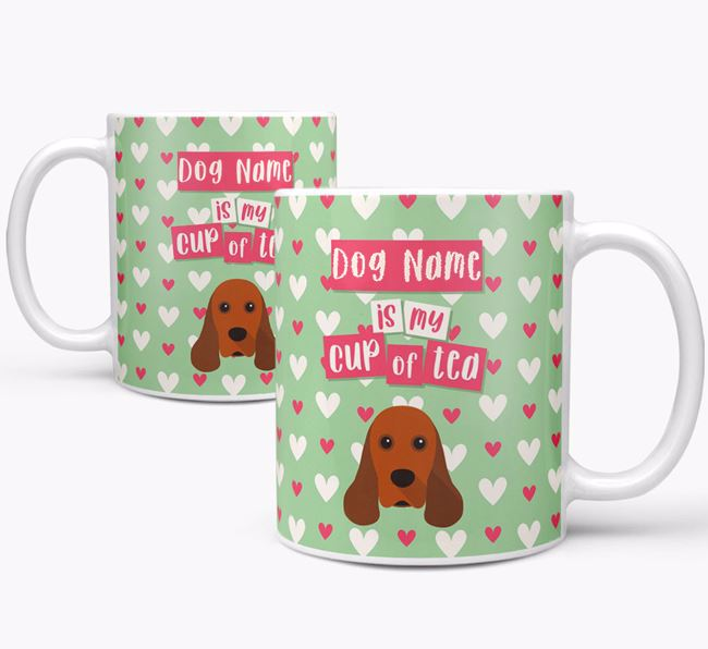 Personalised American Cocker Spaniel 'Your Dog is my Cup of Tea' Mug