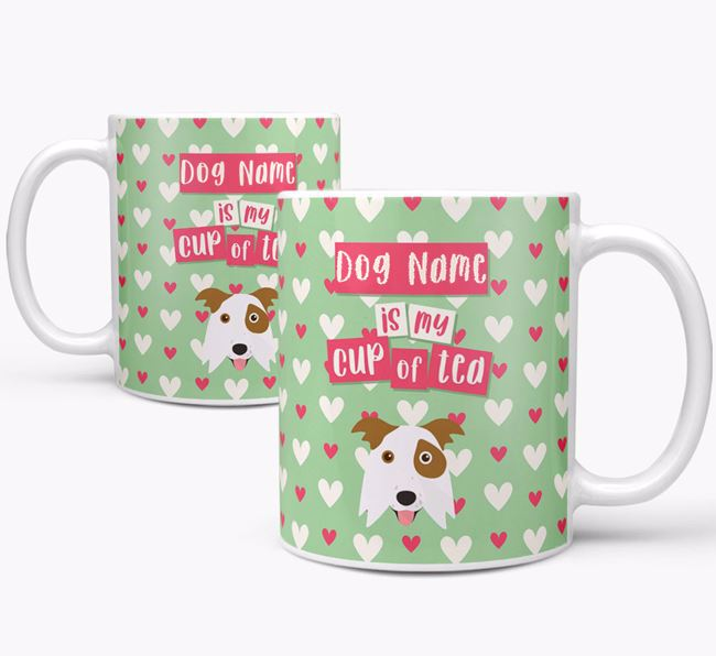 Personalised Border Collie 'Your Dog is my Cup of Tea' Mug