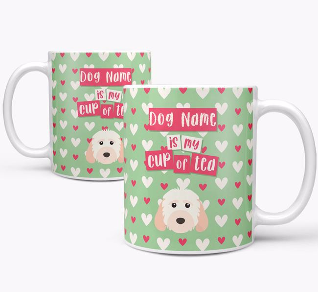 Personalised Cockapoo 'Your Dog is my Cup of Tea' Mug