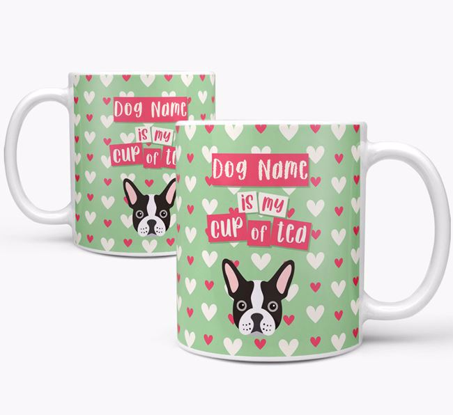 Personalised French Bulldog 'Your Dog is my Cup of Tea' Mug