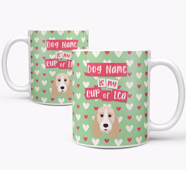 Personalised Grand Basset Griffon Vendeen 'Your Dog is my Cup of Tea' Mug
