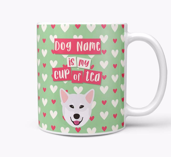 Personalised Mixed Breed 'Your Dog is my Cup of Tea' Mug