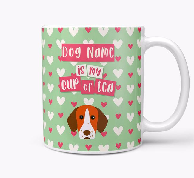 Personalised Pointer 'Your Dog is my Cup of Tea' Mug