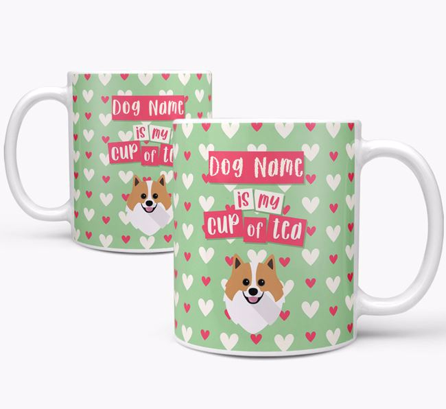 Personalised Pomeranian 'Your Dog is my Cup of Tea' Mug
