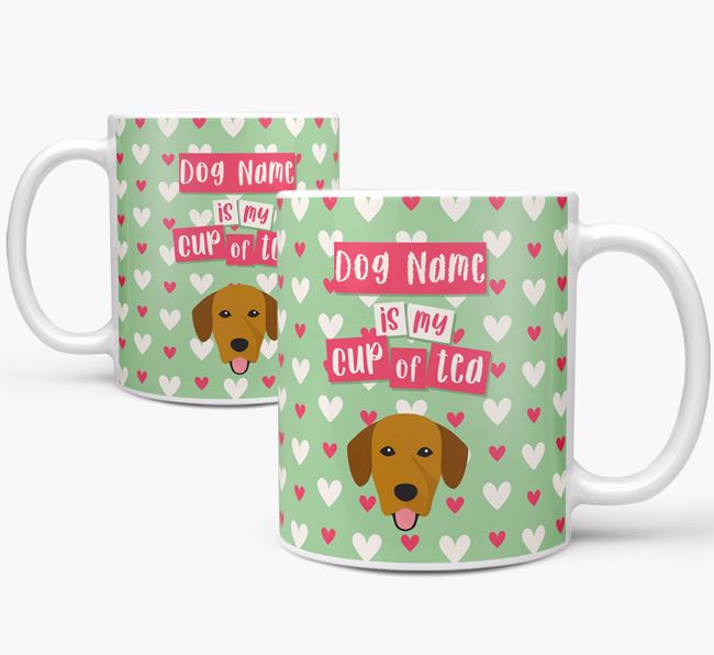 Personalised Springador 'Your Dog is my Cup of Tea' Mug