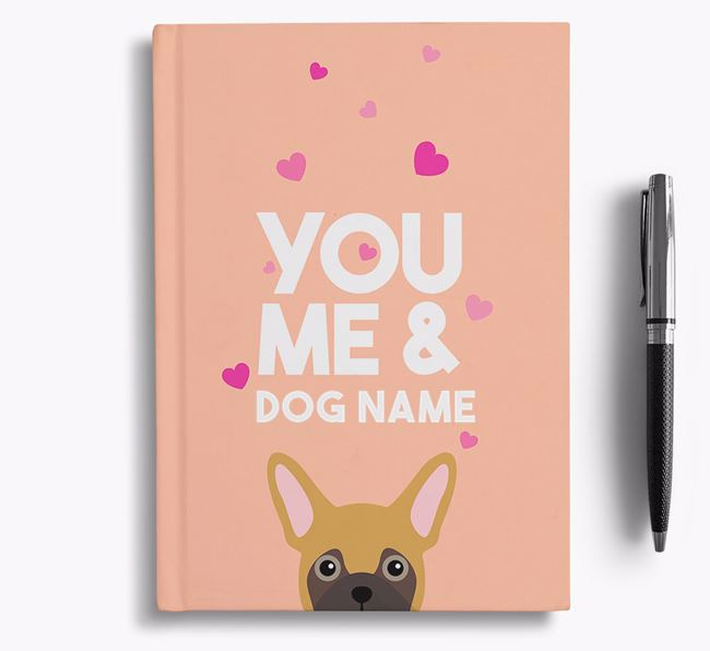 Personalised 'You, Me and Your Dog' Notebook