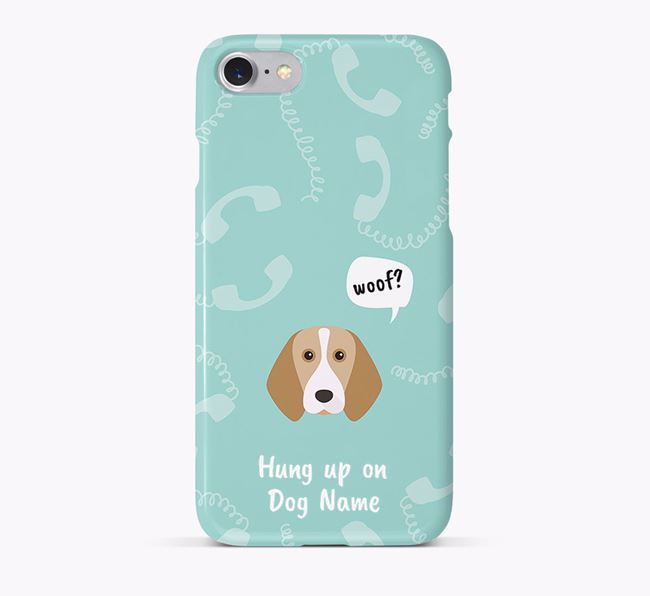 'Hung up on Your Dog' Phone Case with Beagle Icon