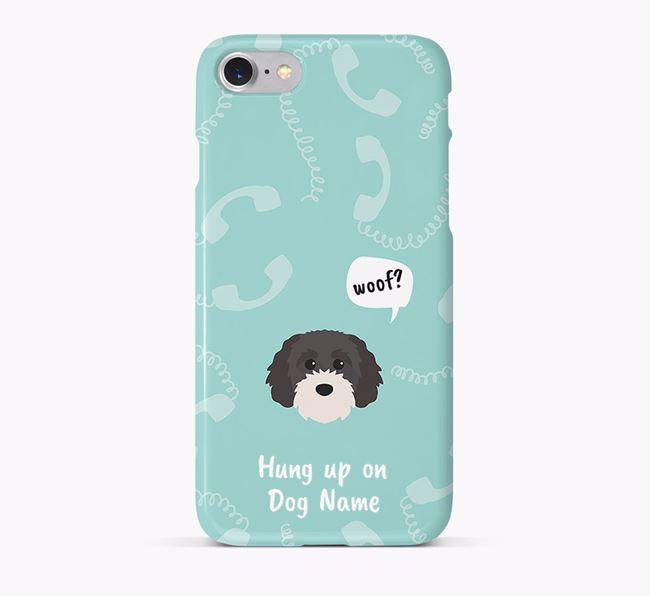 'Hung up on Your Dog' Phone Case with Cavapoochon Icon