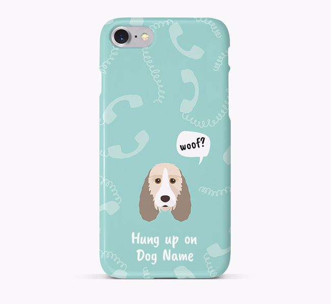 'Hung up on Your Dog' Phone Case with Grand Basset Griffon Vendeen Icon
