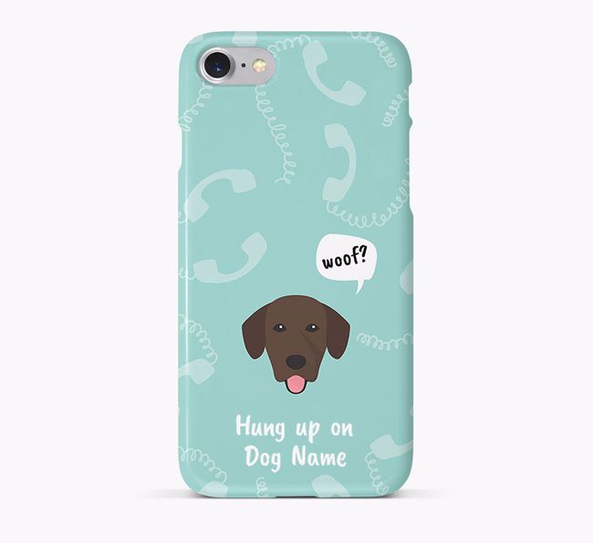 'Hung up on Your Dog' Phone Case with Springador Icon