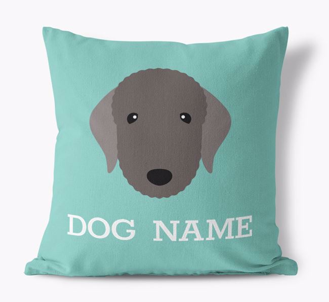 Personalised Icon Canvas Pillow