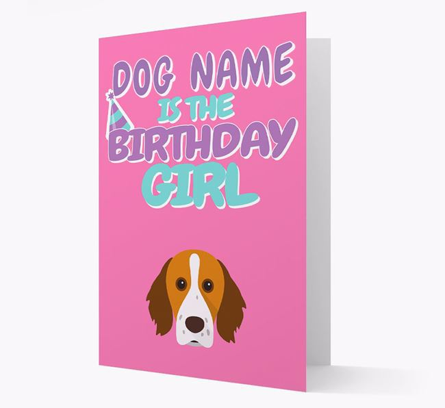 'Birthday Girl' Card with Brittany Icon