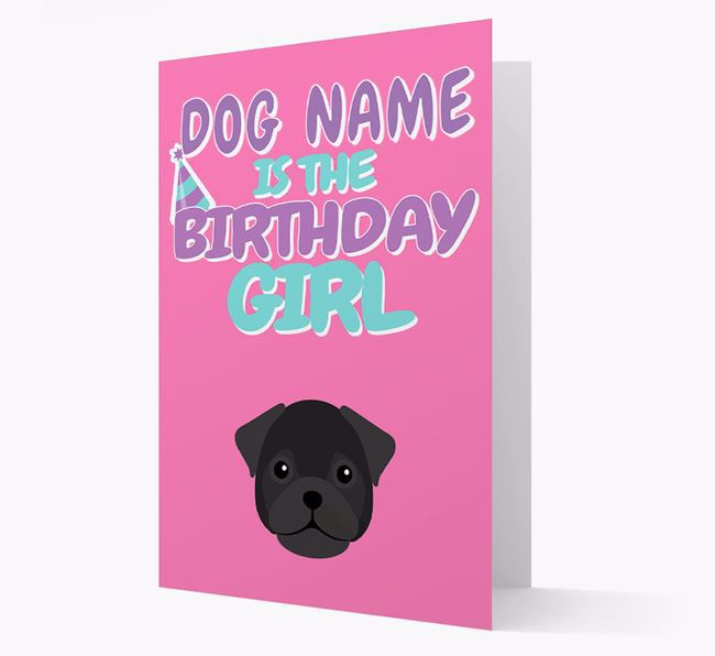 'Birthday Girl' Card with Frug Icon