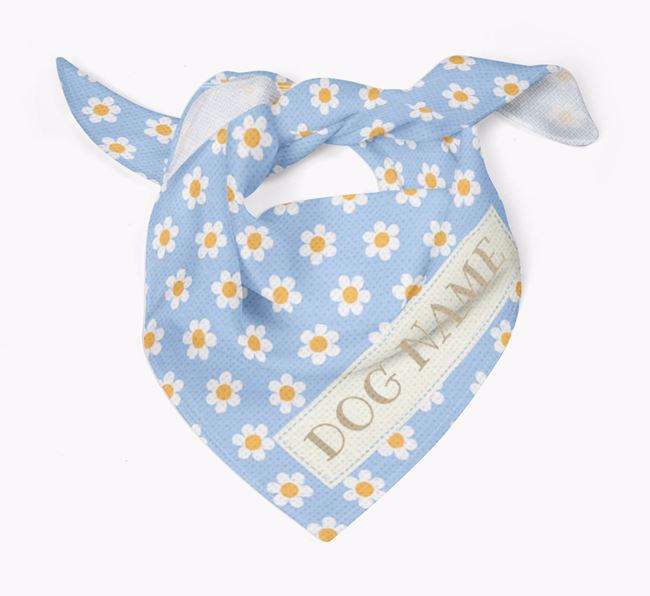 Spring Flowers Bandana for your Dog