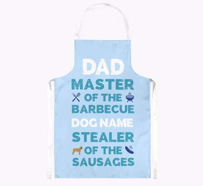 'Master of the Barbecue' Apron with Cane Corso Italiano Icon