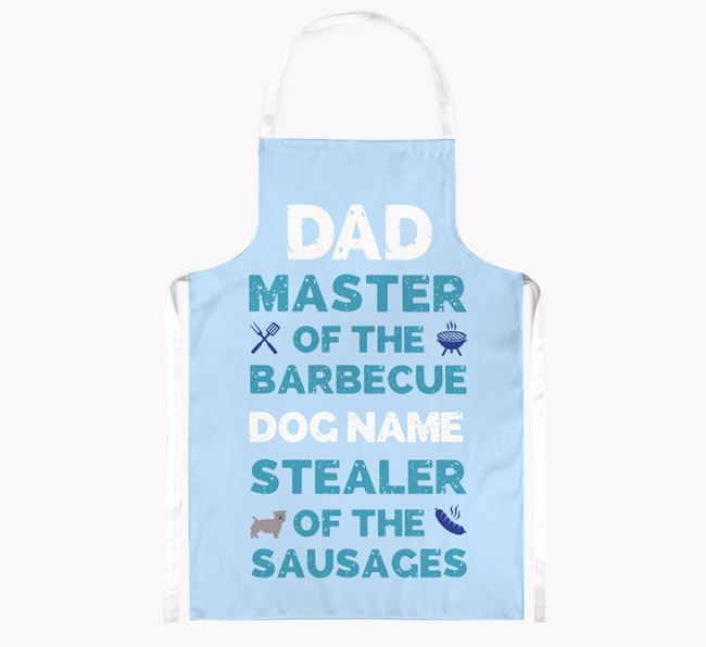 'Master of the Barbecue' Apron with Glen Of Imaal Terrier Icon