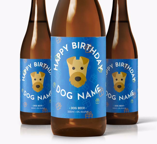 Personalised Birthday Beer for Your Dog