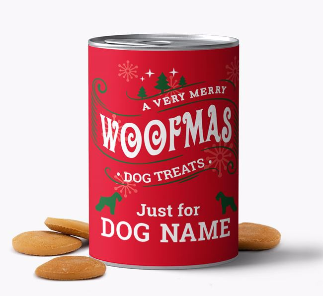 Hand Baked 'Merry Woofmas Your Dog' Biscuits