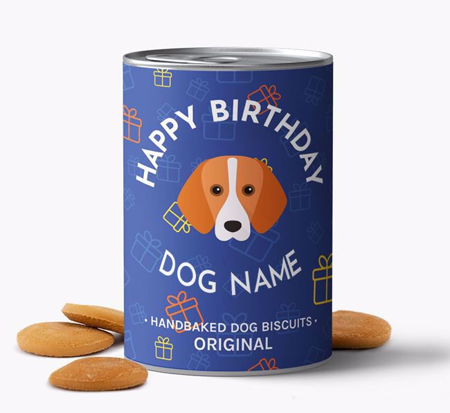 Personalised Birthday Dog Biscuits for Your Dog
