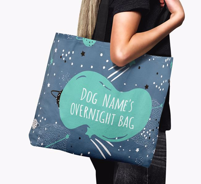 Your Dog's Overnight Canvas Bag