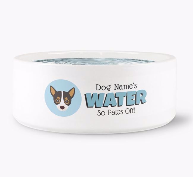 Personalised 'Your Dog's Water' Bowl
