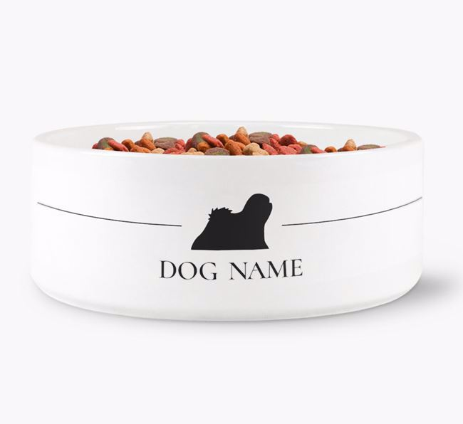 Personalised Lhasa Apso Silhouette