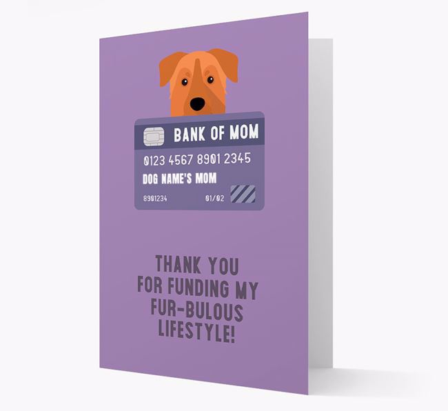 'Bank of Mom' - Personalised Chinook Card