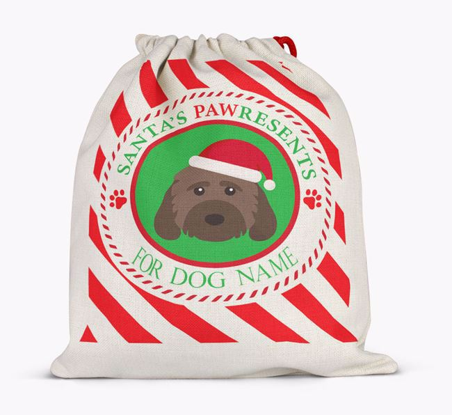 Santa Sack 'Pawresents' - Personalized for Your Cockapoo