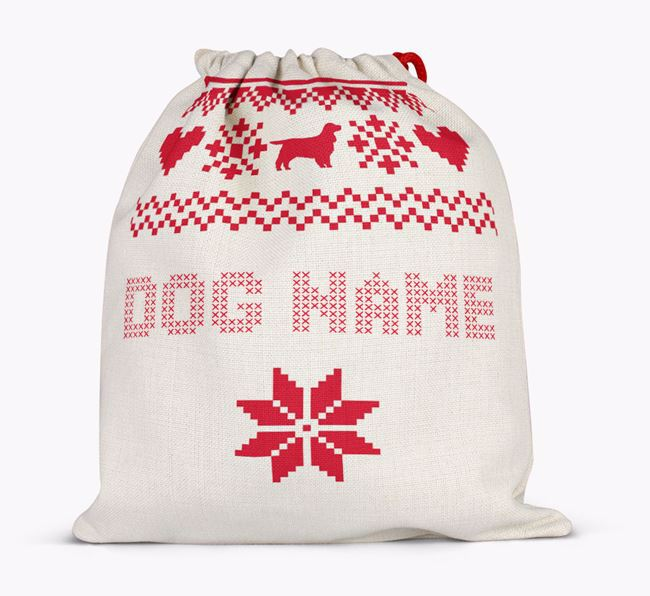 full personalised santa sack