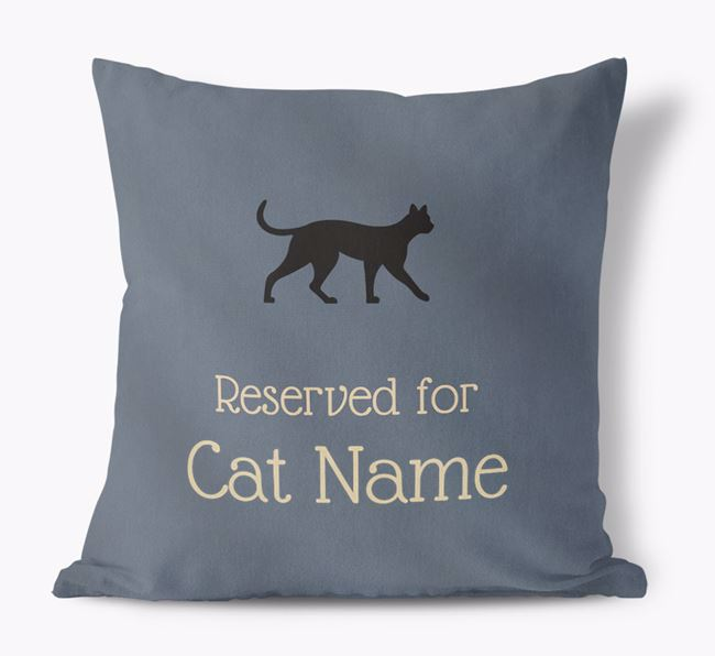 'Reserved for Asheras' - Personalized Soft Touch Pillow