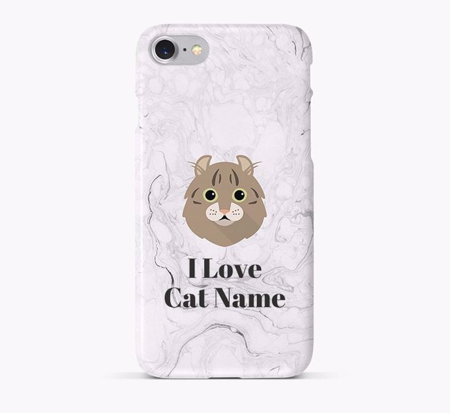 'I Love...' - Personalized Cat Phone Case