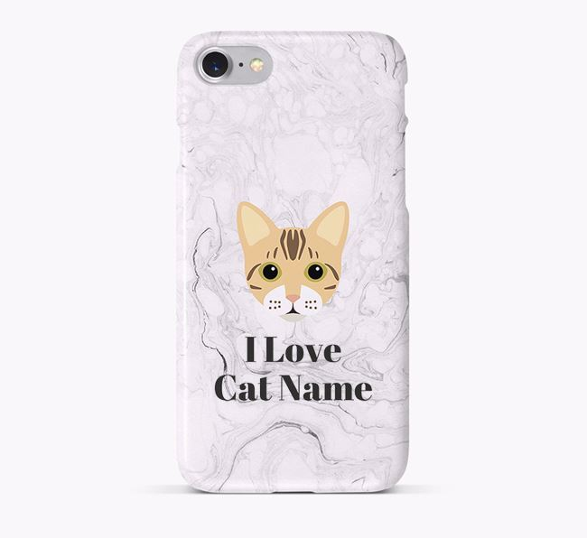 'I Love...' - Personalized Bengal Phone Case