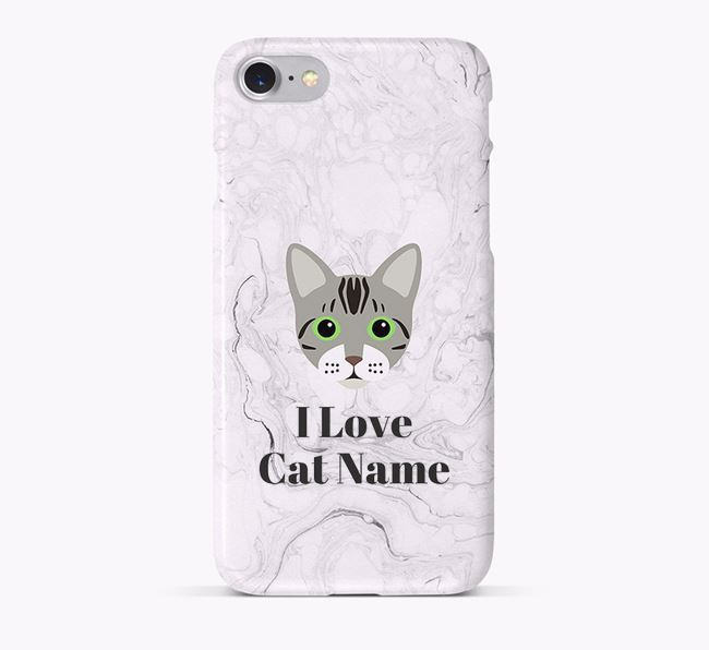 'I Love Your Cat' - Personalised Bengal Phone Case