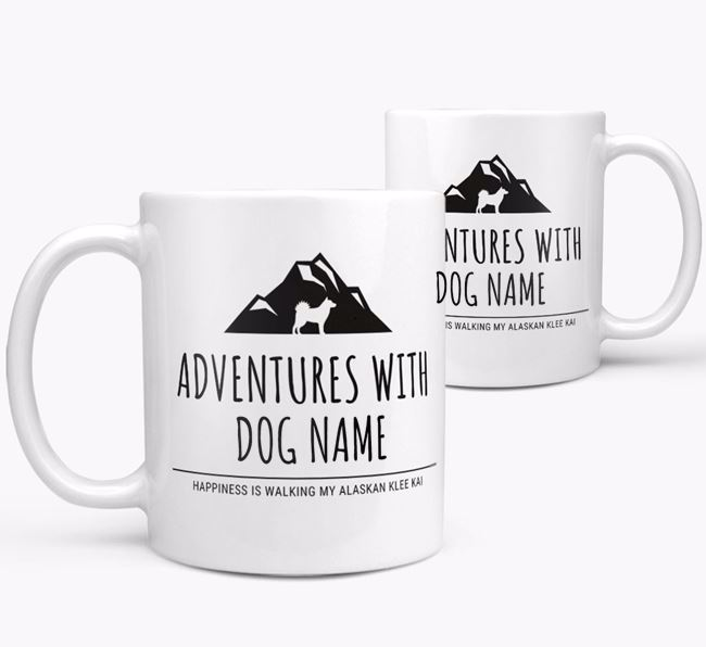 'Adventures with Your Dog' Personalized Mug